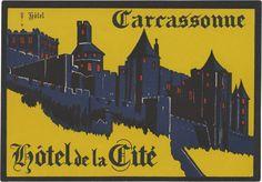 Hotel de la Cité, Carrassonne (102mm × 147mm)   Flickr - Photo Sharing!