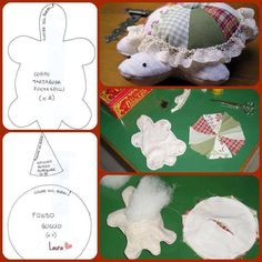 18 Ideas for sewing projects toys pin cushions Felt Turtle, Turtle Quilt, Diy Y Manualidades, Turtle Pattern, Small Sewing Projects, Sewing Toys, Sewing Accessories, Stuffed Animal Patterns, Felt Crafts