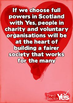 Building a fairer society that works for the many | Yes Scotland
