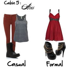 """Cabin 5: Ares"" by idmiliris on Polyvore"