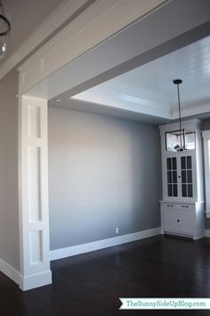 Formal Dining Room Wall Trim Dise Atilde Plusmn O Interiores Casas Molduras Home Renovation, Home Remodeling, Bathroom Remodeling, Plafond Design, House Trim, Moldings And Trim, Crown Moldings, Door Molding, Archway Molding