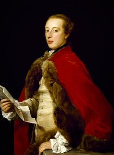 Gods and Foolish Grandeur: Pompeo Batoni - gentlemen in red
