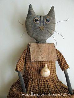 Primitive cat....