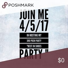 Hosting my 3rd party 🎉🎉 Join me share like and comment to be featured as a host pick 😍❤️ see y'all there Other