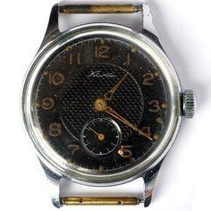 Vintage soviet mechanical watch KAMA. 1957 Made in USSR Chistopol. Serviced #sslawa #pobedawatch #sovietwatch #kama #kamawatch #ретроссср #часыкама #часыссср #ussrwatch #ussrwatches #советскиечасы #винтаж #worldwideshipping #worldwidedelivery #кама #retroussr #retrowatch #sovietvintage #ussr #ussrvintage #vintage #vintagewatch #menswatch #sovietaccessories #vintageaccessories #black #blackdial #watchfromUSSR #vintage1950s #1950s #Classic
