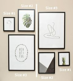Modern Minimalist Gallery Wall Guide for Beginners Mirrored gallery wall using 3 sizes mirrored from left to right.Mirrored gallery wall using 3 sizes mirrored from left to right. Gallery Wall Bedroom, Mirror Gallery Wall, Gallery Wall Layout, Gallery Gallery, Photo Gallery Walls, Wall Art Bedroom, Modern Gallery Wall, Wall Mirrors, Modern Wall Decor