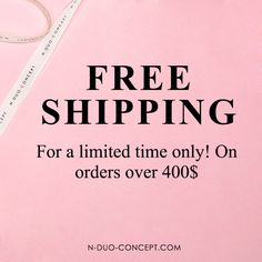 #FREESHIPPING for a limited time only💥on orders over 400$✋🏼💥