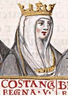 Constance of Burgundy (8 May 1046 – 1093) was the daughter of Duke Robert I of Burgundy and Helie de Semur-en-Brionnais. She was Queen consort of Castile and León by her marriage to Alfonso VI of León and Castile. She was the mother of Urraca of León, who succeeded her father in both Castile and León. In 1065, Constance married her first husband, Hughes II, Count of Chalon. They were married for fourteen years until Hughes' death in 1079, they had no children.