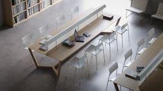Panache Kantoormeubilair Mobilier de Bureau kantoortafel leestafel table de bureau Lorca©