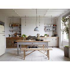Cozinha Rustica de Madeira e Azulejo no Arkpad - Arkpad