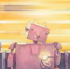 Recently Robotic by Odeh Amarin, via Behance