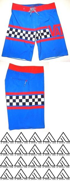 13d1b267a6 Swimwear 51919: New Vans Boys Youth Getting Crit Stretch Board Shorts Size  26 12 -> BUY IT NOW ONLY: $32 on eBay!