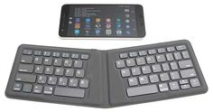 If you can touch type on your mobile device faster tap can type (I just made up that new term), then a Bluetooth keyboard is a useful productivity tool when you have a lot of text to enter. There are alreadyeleventy billion different travel sized Bluetooth keyboards on the market, so...