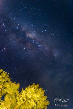 Night sky of Palau - rain after rain, finally I saw the sky