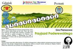 Przyjazd Paderewskiego - plansza