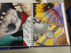 Cubism mixed media