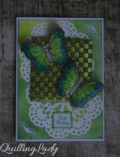 Quilling Lady: Time for butterflies!