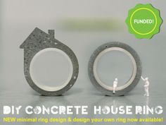 The DIY Concrete House Ring