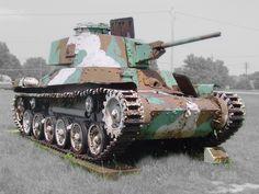 Japanese Type 97 Shinhoto Chi-Ha at the United States Army Ordnance Museum.