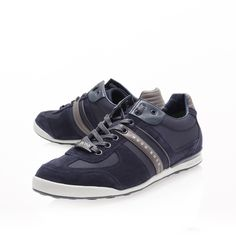 akeen lo pro sneaker, navy shoe by hugo boss - men shoes casual