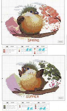 Four Seasons: Free pattern (part 1)