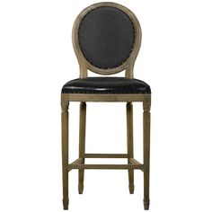 Curations Limited Vintage Louis Back High Bar Stool 8828.2001