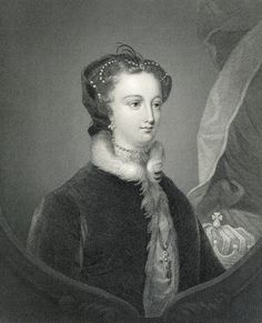 Mary Queen of Scots, 19th Century (engraving) by Sir John Watson Gordon