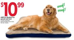Kmart Thursday Door Busters 2015: ASPCA Fur Gusseted Pet Bed Only $10.99