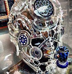 Glass Mask Bong : trees