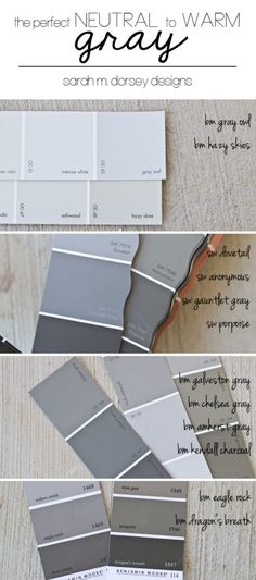 How to Pick the Perfect Gray Paint Color - Dorsey Designs