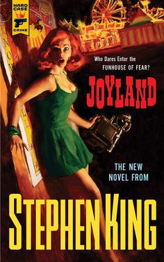 Cover for new Stephen King novel by Glen Orbik. Love the retro creepy carnival look. So classic. <3