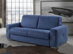 Modern Italian Convertible Sofa Titano by IL Benessere Fabric Sofa Design, Sofa Furniture, Sofa, Bunk Beds With Stairs, Modern Italian, Sofa Set, Living Room Sofa Design, Furniture Design, Convertible Sofa