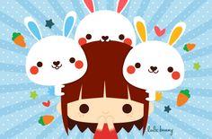 Illustration {digital} by Luli Bunny