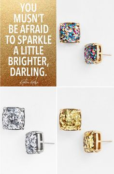 Enter to win a pair of @katespadeny sparkle studs in our Instagram Giveaway http://instagram.com/p/vd-PNwPXqI/?modal=true