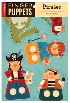 Pirates Finger Puppets (Mudpuppy)