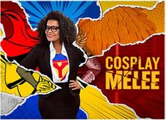 Preview: SyFy's new Cosplay Melee series with Yvette Nicole Brown, Interview, Trailer Premieres 3/22 10 PM  Find out more at: http://www.redcarpetreporttv.com/2017/03/21/preview-syfys-new-cosplay-melee-series-with-yvette-nicole-brown-interview-trailer-premieres-322-10-pm/
