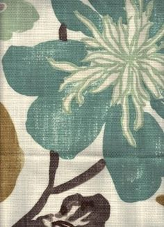 My sewing room curtain fabric