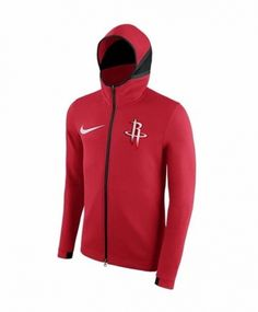 8b0ca9e73ec NBA Houston Rockets Red With Hat Jacket Top 6