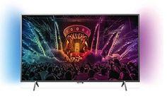 Philips 43pus6201 4 K Ultra Slim Smart TV LED avec 2 Ambilight and Pixel Plus Ultra HD