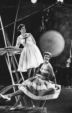 «Телеведущие». 1960 год. Фото: Лев Портер