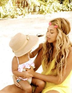 Beyonce et sa little Blue Ivy