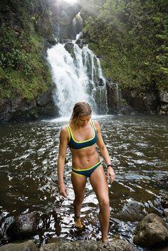 ACE Swim Top & Bottom in #Maui #ROXYOutdoorFItness