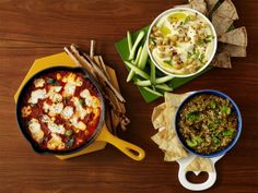 50  Game-Day Dips from FoodNetwork.com