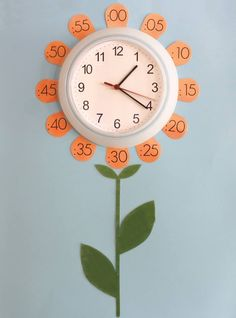 attach numbers to clock with twist on lids School Projects, Projects For Kids, Crafts For Kids, School Classroom, Classroom Decor, Decoration Creche, Material Didático, Teaching Time, Kids Learning Activities