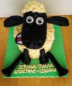 Shaun the sheep cake! Shaun The Sheep Cake, Christmas Ornaments, Tv, Holiday Decor, Christmas Jewelry, Tvs, Christmas Decorations, Christmas Wedding Decorations, Television Set