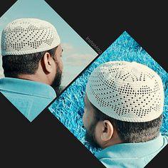 Triangle Filet Kufi pattern by MuslimStitchcraft Crochet Cap, African Safari, Mens Caps, Sun Hats, Hats For Men, Crochet Projects, Triangle, Crochet Patterns, Beanies