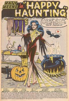 Happy Haunting by Susan Berkley; pencils by John Lucas and inking by Vince Colletta