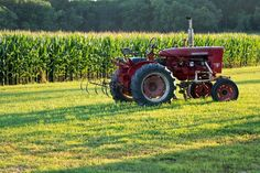 rustic tractors pictures - Google Search