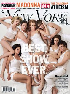 gossip girl new york magazine cover
