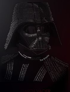 Vader word art by ~etrav689 from deviantart.com